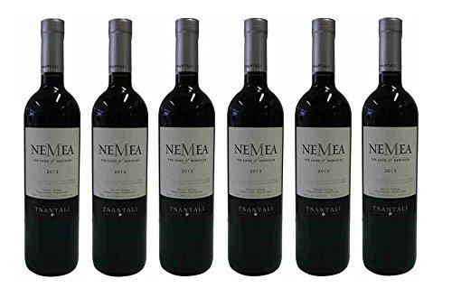 6x-750ml-NEMEA-griechischer-Rotwein-trocken-125-Tsantali-Spar-Set-2x-Probiersachet-Olivenl-kaltgepresst-von-Kreta