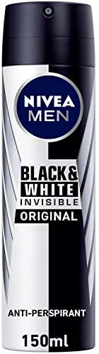 NIVEA, MEN, Deodorant, Invisible Black & White, Original, Spray, 1