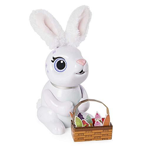 Zoomer- Hungry Bunny Coniglio Interattivo, Colori Assortiti, 6044085