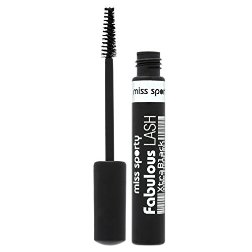 Coty Miss Sporty Fabulous Lash Lash Building Mascara 8ml Xtra Black by Miss Sporty - Building Mascara