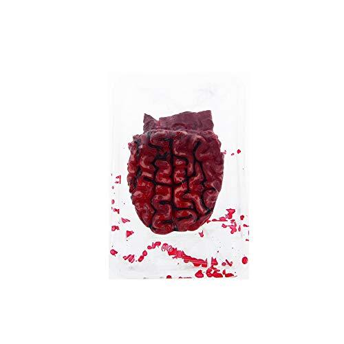BaronHong Terror durchtrennt Bloody Fake Arm Hand Orgel für Halloween Party Requisiten Dekorationen (Gehirn, M) (Halloween Hand Fake)