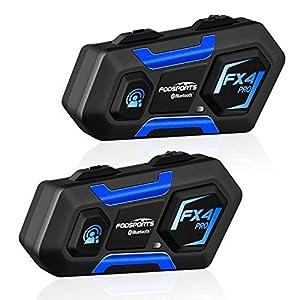 FODSPORTS FX4 Pro Intercomunicador Casco
