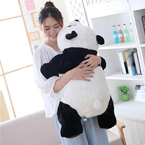 XuBa Niedlichen Liegen Panda Gef\u00fcllte Puppe China Maskottchen Panda Stofftier Tiere Plushie Spielzeug Kinder Umarmbar Panda Spielzeug Geburtstagsgeschenk panda