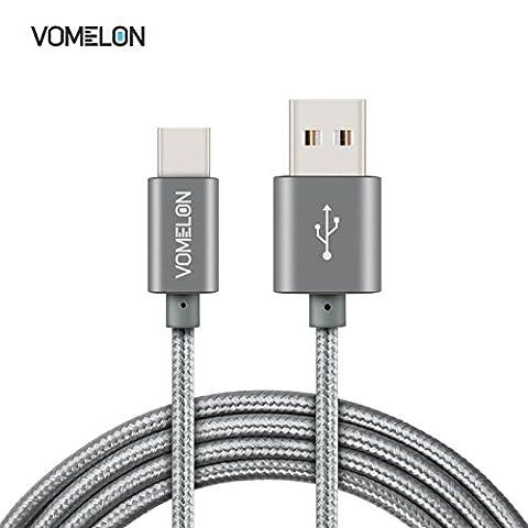 USB C Cable (6 Feet) [3 Pack],V0MEL0N High Speed Data