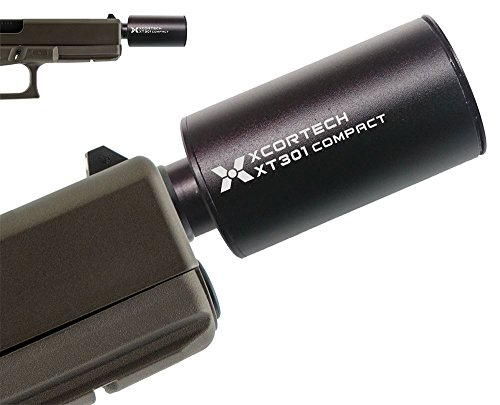AIRSOFT PISTOL TRACER UNIT GLOW NIGHT BB'S XCORTECH HIGH SPEED XT301 2100 RPM 14MM UV