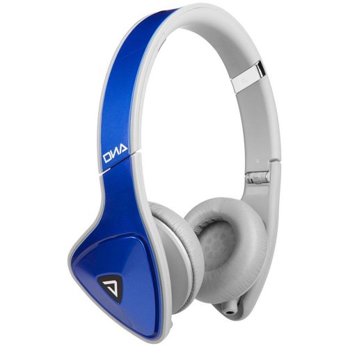 DNA On-Ear con Control Talk, Argento/Blu