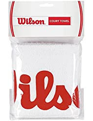 Wilson Court Towel - Toalla , color blanco/rojo, talla NS