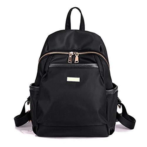 Laptop Rucksack Anti-Diebstahl-GeschäFtsreisen Nylon Gewebt Leinwand Leinwand Handtasche Mit GroßEr KapazitäT Tasche 25 * 13 * 25Cm