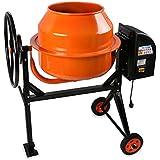 EBERTH Mezcladora de hormigón y mortero con tambor de 140 L de volumen y 550 W