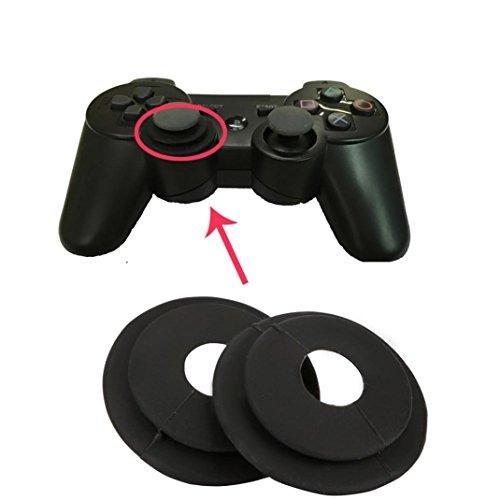 Wokee Analogstick Schutzkappen Joystick Grips,Controller Stick Grip Joystick Schutzring Hilfskreis für PS4 XBI