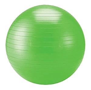 Schildkröt Fitness Gymnastikball, anthrazit, 65 cm, 960056 Grün von Schildkröt Fitness