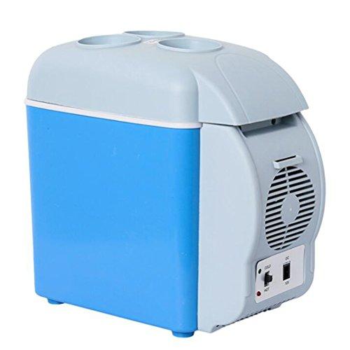Frigorifero 7.5l frigorifero per auto mini frigorifero per auto frigorifero per uso domestico frigorifero riscaldamento riscaldamento supporto per tazza portatile