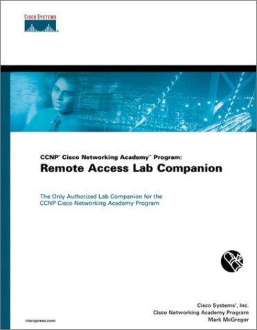 CCNP Cisco Networking Academy Program: Remote Access Lab Companion por Cisco Systems  Inc.