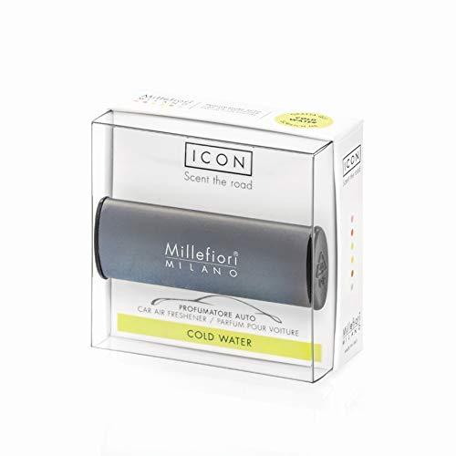Millefiori Profumo per auto Millefiori ICON colore grigio scuro fragranza Cold Wat