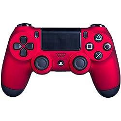 DUALSHOCK 4 inalámbrico rojo para PS 4 - Tacto suave y mejor agarre