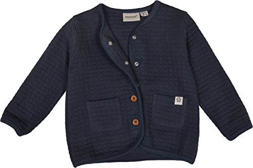 5d313b479bfd Papfar Strickjacke Quilted Sweat Baby Cardigan