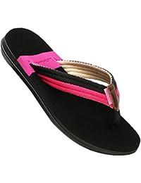 67c6c011d36 CHENGYANG Unisexe Homme Femme Couples Tongs Chaussures Plage Bout Ouvert  Sandales Flip-Flops