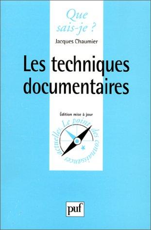les-techniques-documentaires