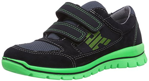 Ricosta Jeremy, Low-Top Sneaker bambino Blu (Blau (see 183))