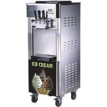 Cecle - Máquina de helado de servido suave 2 + 1, sabor mezclado, 3