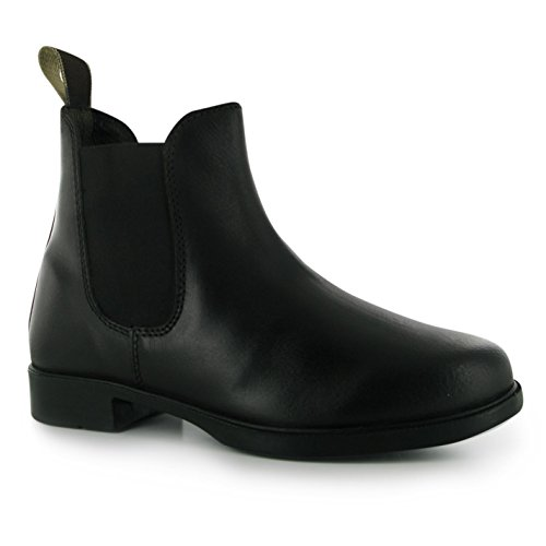 Requisite Glendale Damen Reitstiefelette Reitschuhe Reit Boots Reiter Schuhe Schwarz 4 (37)