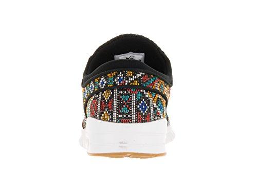 Nike Air Stefan Janoski Max Premium Sneaker Nouvelles Modèle 2016 noir Noir/multicolore