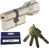 ABUS EC660 ECK660 Profil-Knaufzylinder Länge (a/b) Z30/K40mm (c=70mm) mit 4 Schlüssel, mit Sicherungskarte