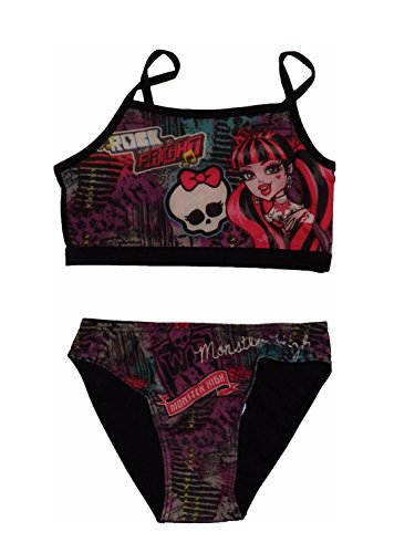 Monster High Tankini Bikini Schwarz (128)