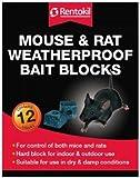 Mouse and Rat Waterproof Bait Blocks