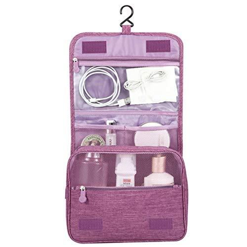 Beauty Case da ViaggioAppeso Trousse da ToiletteMulti compartimenti per Organizzare Oggetti PersonaliAccessori