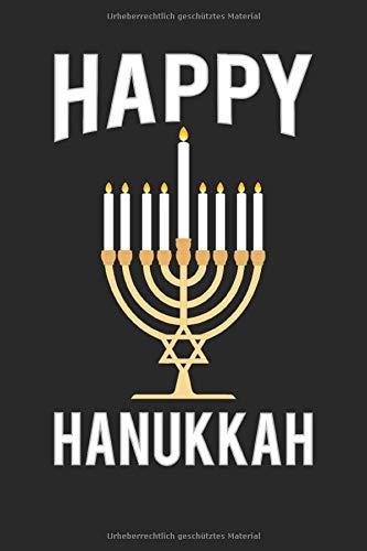 isch Hanukkah Notizbuch Fest der Lichter | Chanukka Judentum Journal - 120 Linierte Seiten Notizblock ()