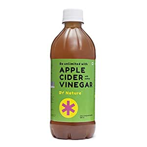 By Nature - Raw Apple Cider Vinegar With Mother,500 ml
