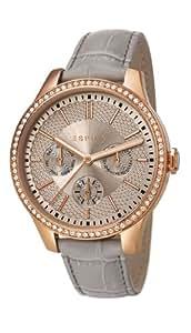 Esprit - ES107132002 - Montre Femme - Quartz Analogique - Bracelet Cuir Gris