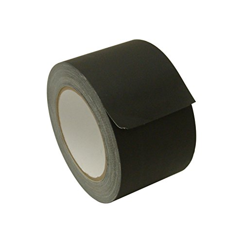 jvcc-j90-low-gloss-gaffer-style-duct-tape-3-in-x-75-ft-black