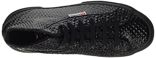 Superga 2795-Quiltpatentw, Scarpe Low-Top Donna Nero (Full Black)