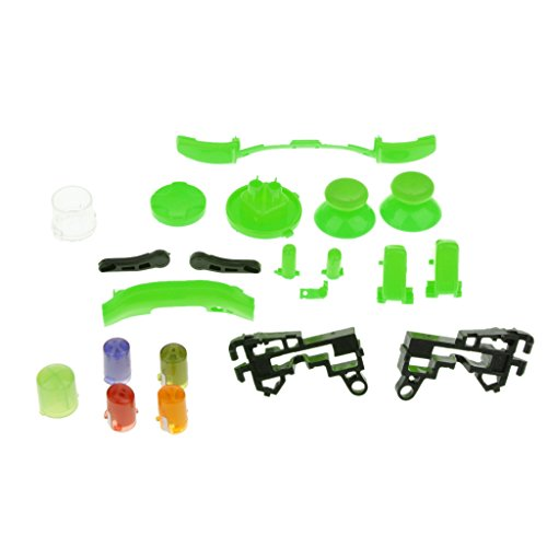 Sharplace Schutz Hülle Gehäuse Set Für Xbox 360 Controller - Grün, One Size