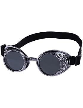 zolimx Moda Gafas de estilo vintage Steampunk