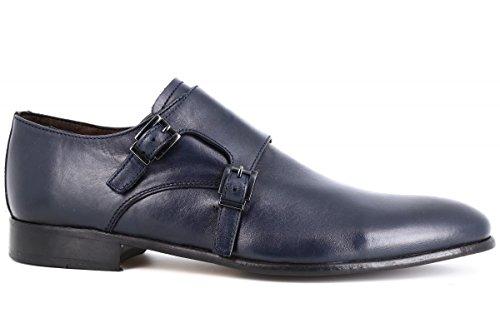 belym Chaussures Homme de Ville en Cuir Bleu Marine Bleu Marine