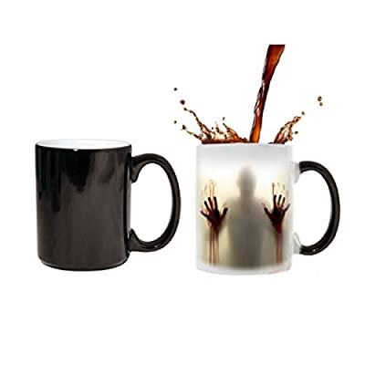 MUG MAGIQUE tasse en ceramique cafe - MADE in France - Livraison EXPRESS - PROMO - DEAD ZOMBIE WALKING