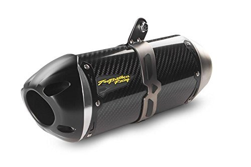 Preisvergleich Produktbild Two Brothers S1R Carbon Fiber Slip-On Exhaust for Kawasaki 2016 ZX10R - One Size by Two Brothers Racing
