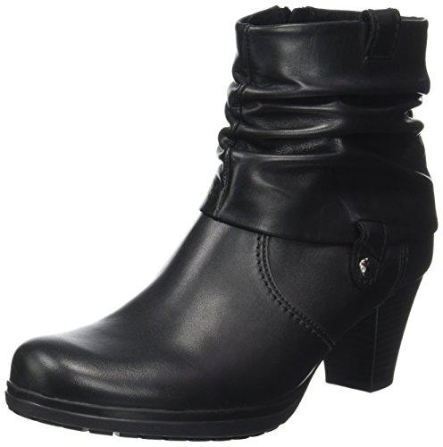 Gabor Shoes Damen Comfort Basic Stiefel, Schwarz (57 Schwarz (Micro)), 39 EU (Schwarz Leder Stiefel)