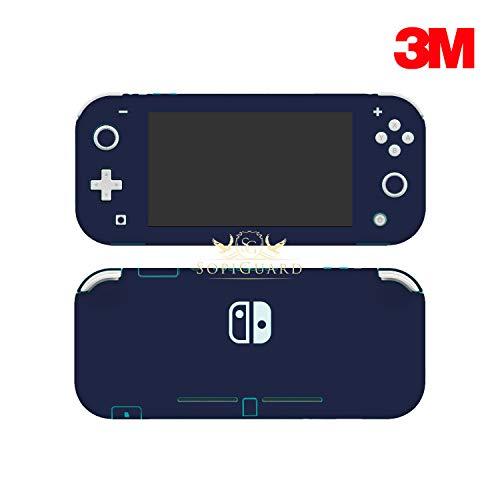 SopiGuard Skin für Nintendo Switch Lite, präzise geschnitten, Vinyl 3M Matte Navy Blue