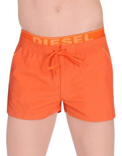 Diesel Dolphin Board Shorts - Turquoise Orange