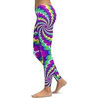 Mallas Mujer,Lunule Mujeres Impreso Pantalones de Yoga Mallas Fitness Leggings de Correr Gimnasio Estiramiento Pantalon Running Mujer