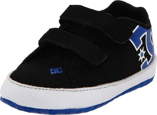 DC Shoes COURT GRAFFIK CRIB D0320039, Jungen Babyschuhe, Schwarz (BK/WH/ROYL BWRD), EU 18 (US 3) (Schuhe Youth Dc)