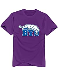 Treask BYU Cougars 100% Cotton T-shirt For Men