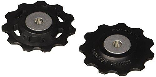 Shimano RD-M786 M773 Juego Desplazante + Conjunto de Rodillos Guía, Negro, Única