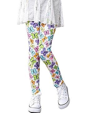 PAOLIAN NiñOs Pantalones De ImpresióN Leggings Flores NiñAs LáPiz CláSico