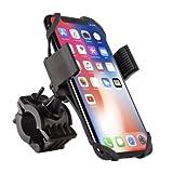 M365 - Supporto per Telefono per Scooter Elettrico, Supporto Universale per Manubrio, Rotazione a 360°, per Scooter e Moto per iPhone XS Max, 8, 7 6S, Samsung Galaxy S9 S8,