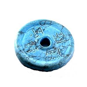 Chinesische 1 Münze Türkis rek. ca. 30 mm Sein Gewicht 4 g